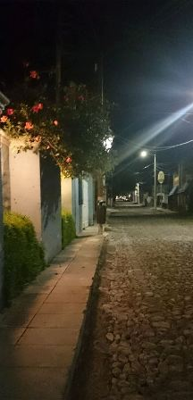 Night scene in Ajijic