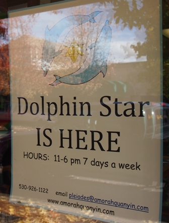 Mount Shasta shop sign