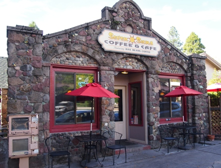 Seven Sons cafe in Mount Shasta