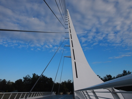 Sundial Bridge at Redding