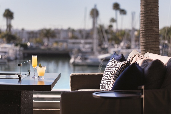 Drinks at the Ritz-Carlton Marina Del Rey