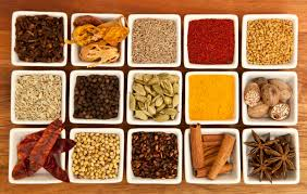 Indian spice assortment