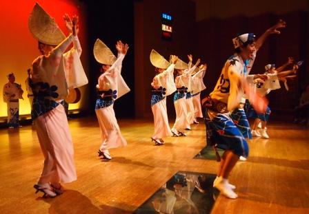 Awa-Dori dancers