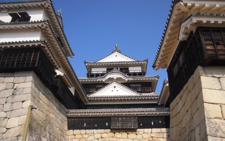 Matsuyama Castle keep tower