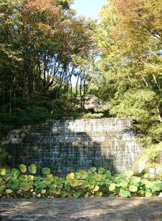 Old Shikoku village waterfall