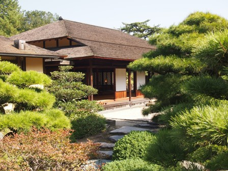 Ritsurin tea house