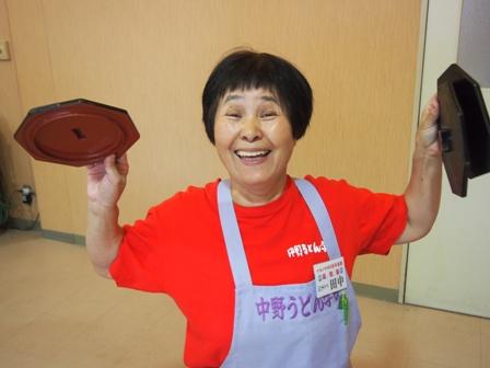 Udon noodle class teacher Tanaka-san