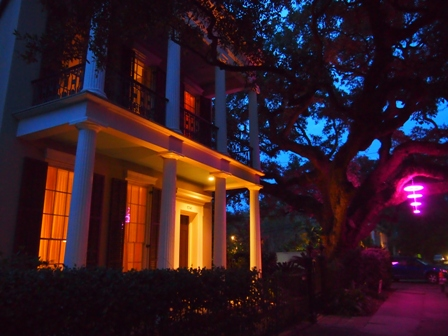 Evening in the Garden District