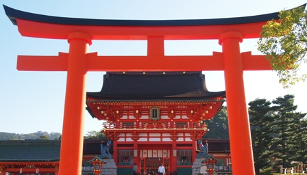 Fushimi Inari Temple entry