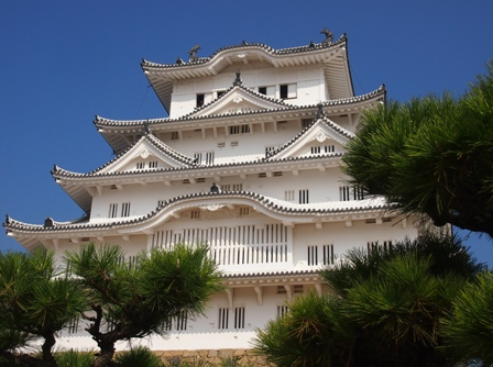 Himechi castle main keep