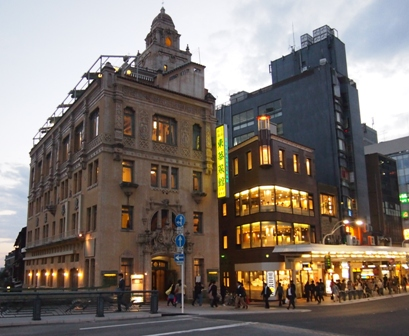 Kyoto CBD by American architect J.M. Gardiner