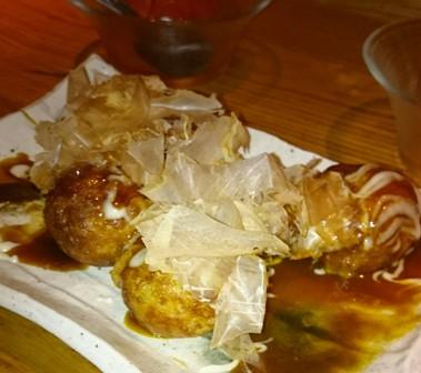 Ponto Cho izakaya -- best takoyaki ever