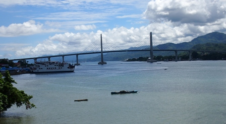 New bridge connecting Ambon