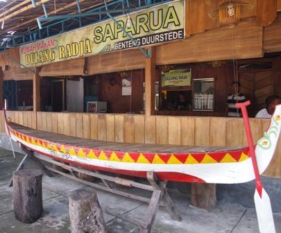 Dulang Radja restaurant Haria Saparua