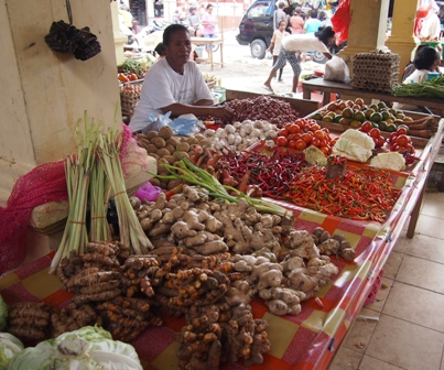 Haria market stall