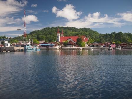 Haria town Saparua