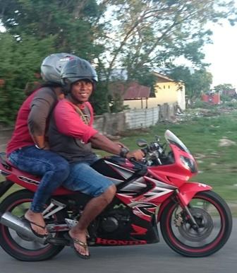 Motorcyclist Ambon