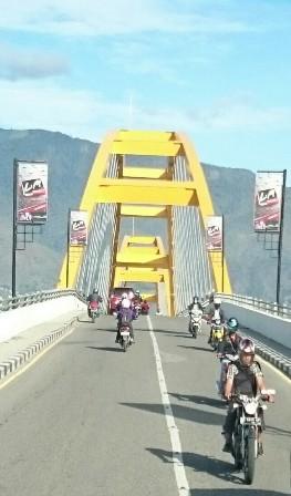 Palu bridge
