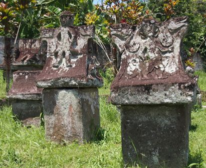 Spanish Waruga tombs