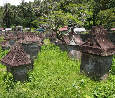 Waruga tombs