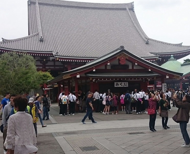 Senso-ji main temple