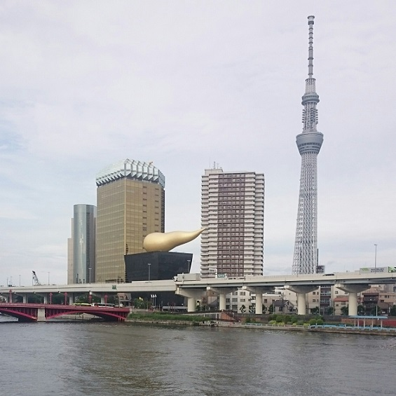 Sumida River from Asakusa