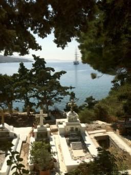 Sailing Against the Aegean