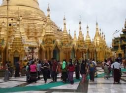 Myanmar Meandering in Yangon